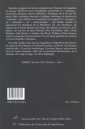 Figures Du Loufoque A La Fin Du Xx Siecle - 4ème de couverture - Format classique