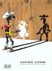Lucky Luke T.46 ; le fil qui chante - 4ème de couverture - Format classique