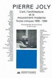 L'Art L'Architecture Et Le Mouvement - Intérieur - Format classique