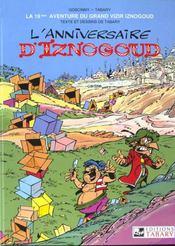 Iznogoud t.19 ; l'anniversaire d'Iznogoud - Intérieur - Format classique