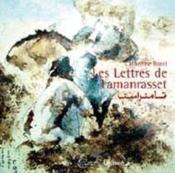 Lettres De Tamanrasset - Couverture - Format classique