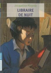 Libraire de nuit - Couverture - Format classique