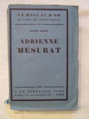 Adrienne Mesurat - Couverture - Format classique