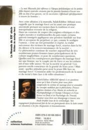 La mawuda du XXIe siècle : victime du mariage forcé - 4ème de couverture - Format classique