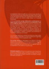La transplantation rénale - 4ème de couverture - Format classique