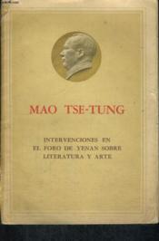 Intervenciones En El Foro De Yenan Sobre Literatura Y Arte - Couverture - Format classique