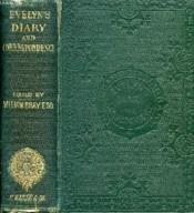 Memoirs Of John Evelyn, Esq., F.R.S. - Couverture - Format classique