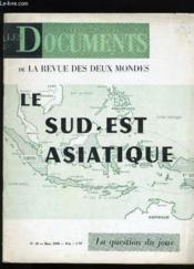 Les Documents De La Revue Des Deux Mondes. N° 10. - Couverture - Format classique
