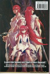 Magi, the labyrinth of magic T.17 - 4ème de couverture - Format classique