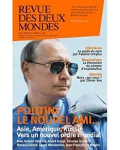 REVUE DES DEUX MONDES ; Trump et Poutine : guerre ou paix ? (édition 2017) - Couverture - Format classique