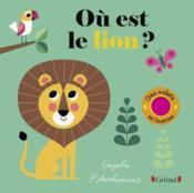 Cache-cache lion - Couverture - Format classique