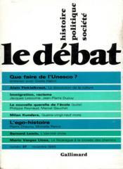 Revue Le Débat N.37 - Couverture - Format classique