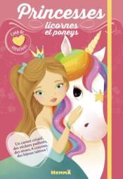 Princesses, licornes et poneys - Couverture - Format classique