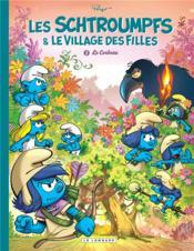 Les Schtroumpfs & le village des filles T.3 ; le corbeau - Couverture - Format classique