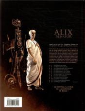 Alix Senator T.11 ; l'esclave de khorsabad - 4ème de couverture - Format classique