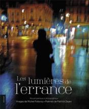 Les lumières de l'errance ; recueil poétique et photographique - Couverture - Format classique