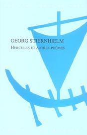 Hercules et autres poemes - Intérieur - Format classique