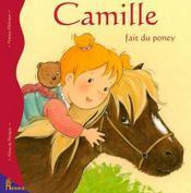 Camille fait du poney - Intérieur - Format classique