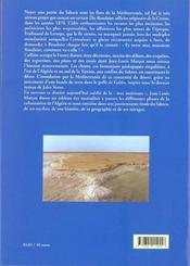 Une mer au Sahara - 4ème de couverture - Format classique