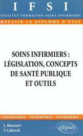 Soins Infirmiers Legislation Concepts De Sante Publique Et Outils - Intérieur - Format classique