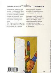 Entrez dans l'extraordinaire langage de la chiromancie - 4ème de couverture - Format classique