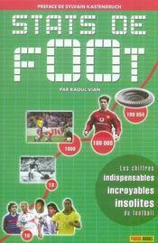 Stats de foot - Intérieur - Format classique