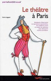 Le théâtre à Paris - Intérieur - Format classique