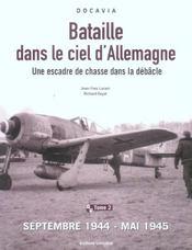 Bataille dans le ciel d'allemagne tome 2 - Intérieur - Format classique