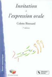 Invitation à l'expression orale (7e édition) - Intérieur - Format classique