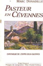 Pasteur En Cevennes - Couverture - Format classique