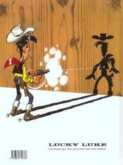 Lucky Luke T.47 ; le magot des Dalton - 4ème de couverture - Format classique