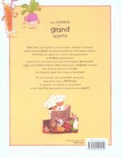 Contes Du Grand Appetit (Les) - 4ème de couverture - Format classique