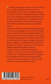 Des syndicats domestiqués ; répression patronale et résistance syndicale aux Etats-Unis - 4ème de couverture - Format classique