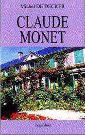 Claude Monet - Couverture - Format classique