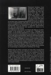 La naissance de l'idée de photographie - 4ème de couverture - Format classique
