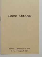 Janine Arland. - Couverture - Format classique