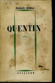 Quentin. - Couverture - Format classique