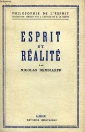 Esprit Et Realite - Couverture - Format classique