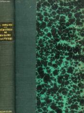 Memoires De Madame De Chauverel - Couverture - Format classique