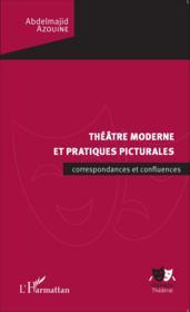 Théâtre moderne et pratiques picturales ; correspondances et confluences - Couverture - Format classique