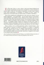 Études offertes à Jean-Louis Harouel ; liber amicorum - 4ème de couverture - Format classique
