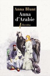 Anna d'Arabie - Couverture - Format classique