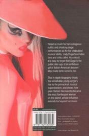 Lady Gaga - The Unauthorized Biography - 4ème de couverture - Format classique