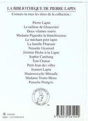 Mademoiselle mitoufle - 4ème de couverture - Format classique