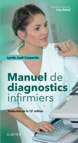 Manuel de diagnostics infirmiers (15e édition) - Couverture - Format classique