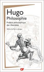 Philosophie ; préface philosophique des Misérables - Couverture - Format classique