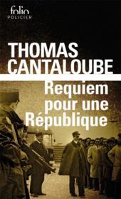 Requiem pour une république - Couverture - Format classique