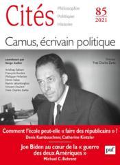 Camus, écrivain politique (édition 2121) - Couverture - Format classique