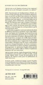 Lettres de loin en loin - 4ème de couverture - Format classique
