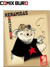 Sketchbook ; Keramidas - Couverture - Format classique